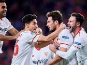 Correa cool, Vazquez per Konter - Sevilla steht im Finale