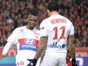 Sattes Pfund: Traorés Doppelpack reicht Lyon nicht