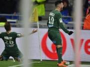 Debuchy trifft spät gegen Lyon