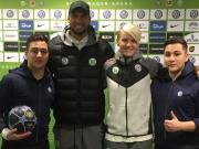 Skill-Twins zaubern in Wolfsburg