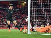 Sané spielt Arsenal schwindelig - Aubameyangs Elfer-Patzer