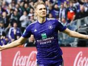 Doppelte Unterzahl - Anderlecht siegt trotzdem