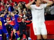 Sevilla macht den Sack nicht zu - Messi rächt es