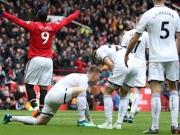 Manchesters Lukaku macht die 100 voll