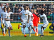 Überragender Dropkick: Ayew belohnt Swansea!