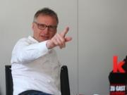 Zu Gast beim kicker: Michael Reschke