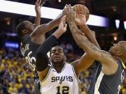 63 Punkte! Durant und Thompson zu stark für die Spurs