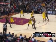 LeBron James erzielt 46 Punkte gegen die Pacers