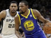 Spurs bekommen Durant nicht in Griff
