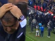 Trainer Günes verletzt: Istanbuler Derby wird abgebrochen