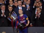 Iniestas königlicher Abschied: Tor, Tränen und Pokal