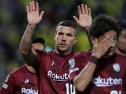 Podolski mit Rechts, Messi mit Rums - Top-Tore des Wochenendes