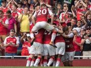 Monreals Direktabnahme - Drei Arsenal-Tore in sieben Minuten