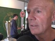 Nix mit Geheimtraining – BSC-Coach Sandhowe über das Pokalfinale