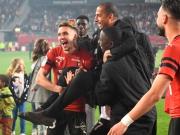 Nur Mbenza stört die Feierlichkeiten Rennes'