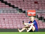 Überall Tränen: Andres Iniesta geht für immer