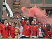 Nach Pokalsieg: Frankfurt im Ausnahmezustand