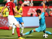 Brasilien souverän gegen Österreich - Neymar zaubert