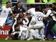 Erst verballert, dann Last-Minute-Treffer - Uruguay jubelt