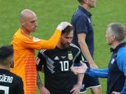 Nur 1:1 - Messi verschießt Elfmeter