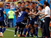 Japan jubelt - Blitz-Rot dezimiert Kolumbien