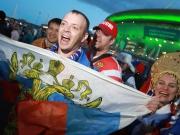 Euphorie in Russland - WM-Party nimmt Fahrt auf