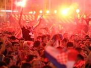 Ausnahmezustand in Zagreb - Kroatien träumt vom WM-Titel