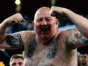 Nach historischem Elfmeter-Sieg - Englands Fans außer Rand und Band