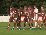 Offener Schlagabtausch: Kölns U19 mit Unentschieden gegen St. Pauli