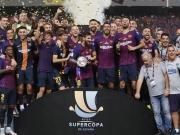 Dank Dembelés Raketenschuss - Barca holt Supercup