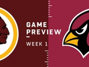 Preview: Redskins vs. Cardinals