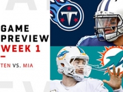 Preview: Titans vs. Dolphins