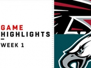 Highlights: Falcons vs. Eagles