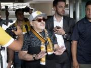 Maradona ist da! Mexikaner heißen neuen Trainer willkommen