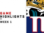 Highlights: Jaguars vs. Giants