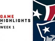 Highlights: Texans vs. Patriots
