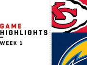 Highlights: Chiefs vs. Chargers