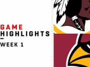 Highlights: Redskins vs. Cardinals