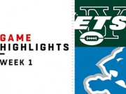 Highlights: Jets vs. Lions