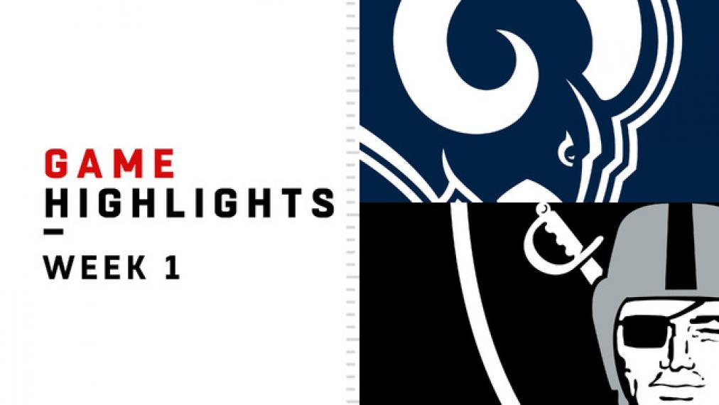 Highlights: Rams vs. Raiders | NFL, 1. Spieltag | Video - kicker