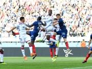Zweimal Rot, Führungen und vier Tore: Viel los in Caen