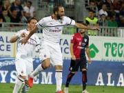 Cagliaris Alu-Pech und Higuains Premiere für Milan