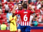 Im Glück, im Pech - und treffsicher in Minute 94: Atletico Madrid