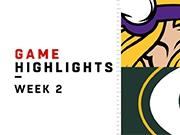Highlights: Vikings vs. Packers