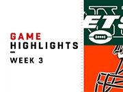 Highlights: Jets vs. Browns