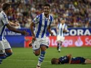 Doppel-Rot und Merino-Tor für Real Sociedad