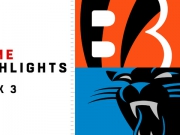 Highlights: Bengals vs. Panthers