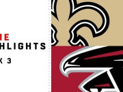 Highlights: Saints vs. Falcons