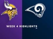 Highlights: Vikings vs. Rams