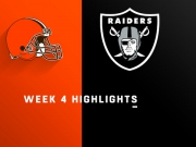 Highlights: Browns vs. Raiders